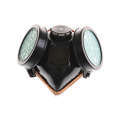 Anti-Dust Spray Chemical Gas Dual Cartridge Respirator Paint Filter Mask HQ
