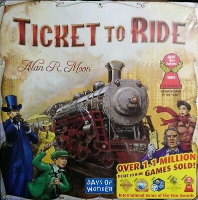 Days of Wonder Ticket to Ride Strategy Board Game 2-5 Players For Ages 8+ Years