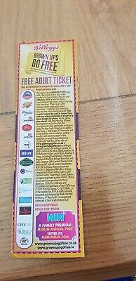 Kellogg's 2 For 1 Adult Ticket/coupon