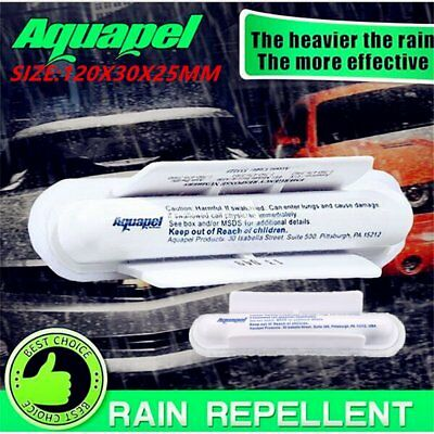 AQUAPEL Applicator Windshield Glass Treatment Water Rain Repellent Repels  HL