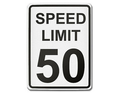 Traffic Sign USA Speed Limit 50 S5704