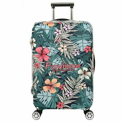 Women's Elastic Luggage Covers Flowers Trolley Suitcase Protector Dust Bags Case