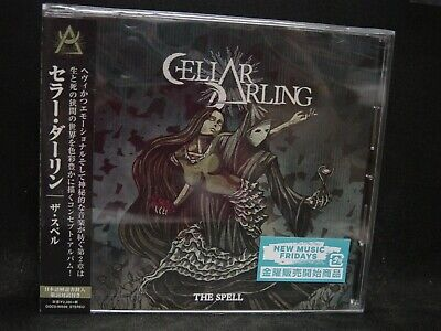 CELLAR DARLING The Spell JAPAN CD Eluveitie Anna Murphy Swiss Folk/Prog Metal