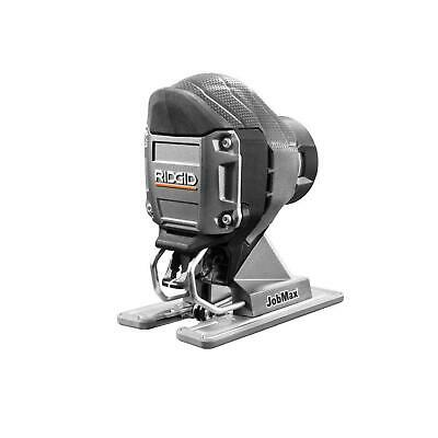 Ridgid Jig Saw Head Cordless No Mar Plate Hex Grip Variable Speed Tool Only
