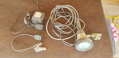Sealey Inspection Lead Lamp / Light Torch 5m cable 12v or 240v c/w transformer