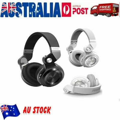 Bluedio T2S Wireless Headphones Stereo Bluetooth 5.0 iPhone XS Headsets with Mic