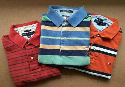 Mens Tommy Hilfiger Classic Polo Shirts - MultiSelect -Different Colours & Sizes
