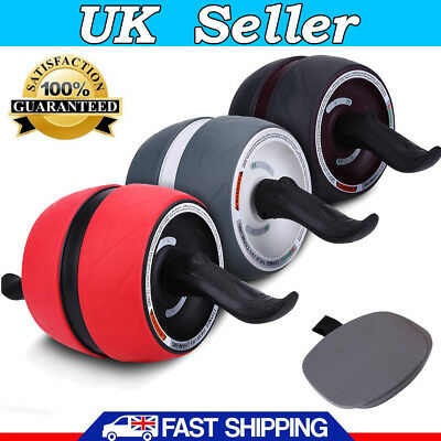 Perfect Abs Carver Pro Wheel Abdominal Power Roller Six Pack Fitness Gym Workout