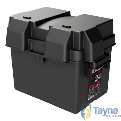 NOCO HM300BK Group 24 Snap-Top Batterie Box