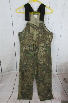 d860a69af50ab LIBERTY MENS REALTREE Overalls Camouflage Hunting Bib Carpenter Size ...