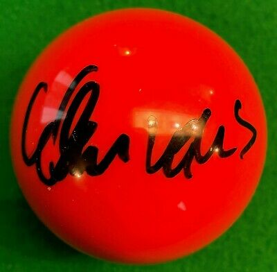 Alan Mcmanus Hand Signed Red Snooker Ball.