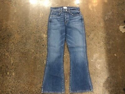 2a4538b6c35 NWT HUDSON WOMEN Vintage Holly High Rise Flare First Rogue Blue Size ...