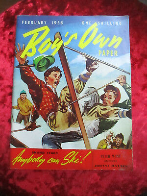 Boy's Own Paper February 1956 - One Of A Collection For Sale Vintage
