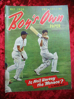 Boy's Own Paper May 1956 - One Of A Collection For Sale Vintage