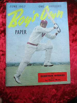 Boy's Own Paper June 1957 - One Of A Collection For Sale Vintage