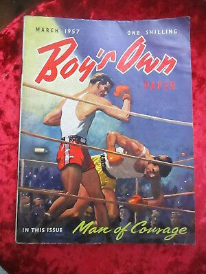 Boy's Own Paper March 1957 - One Of A Collection For Sale Vintage