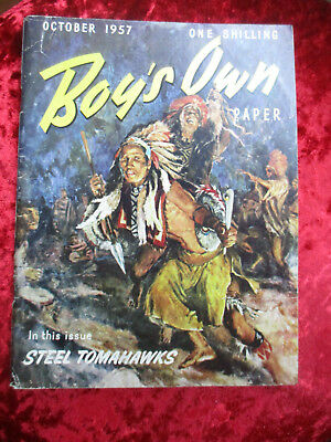 Boy's Own Paper October 1957 - One Of A Collection For Sale Vintage