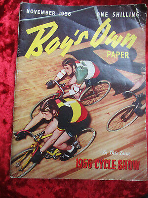 Boy's Own Paper November 1956 - One Of A Collection For Sale Vintage