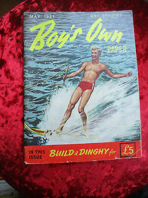 Boy's Own Paper May 1957 - One Of A Collection For Sale Vintage