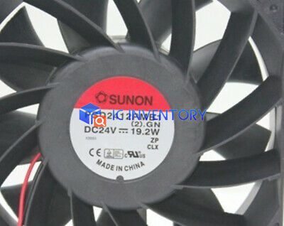 1PCS New SUNON PSD2412PMB1 12cm 12038 24V 19.2W Inverter cooling fan