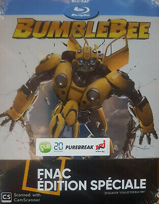 Bumblebee Steelbook Edition Fnac  Blu Ray  Neuf Sous Cellophane