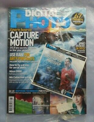 Digital Photo  Magazine August 2016 with CD