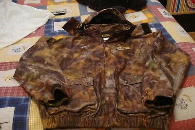 d613aa3f3c372 SCENT BLOCKER PLUS Frontier Hooded Camo Jacket New Breakup ScenTek ...