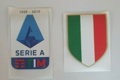patch toppa SET logo JUVE SERIE A TIM 1929 2020 2019 + SCUDETTO TRICOLORE ITALIA