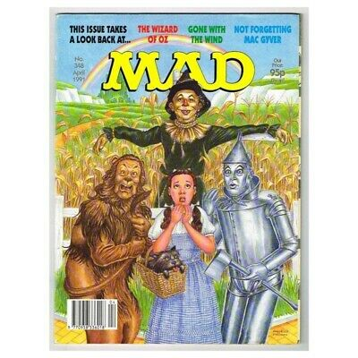 Mad Magazine April 1991 MBox3633/I The Wizard of Oz - Mac Gyver