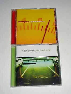 Mercyme Mercy Me Spoken For & Almost There 2 CD LOT FREE SHIPPING
