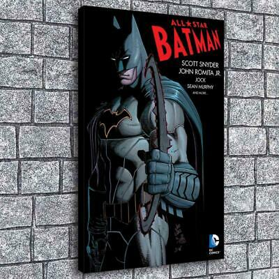 "12""x18""Batman HD Canvas prints Painting Home decor Picture room Wall art Poster"