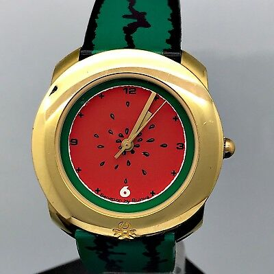 NOS New Benetton by Bulova 930.2320 Cal. 5621.01 Watch Vintage Clock 34mm MAG2