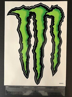 New - Monster Energy Drink Green Claw Sticker Decal Racing Dirt Bike Truck Coke