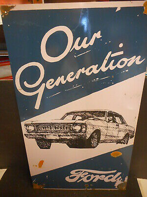 Ford Our Generation Xw Xy Aussie Tin Sign  New Larger Size