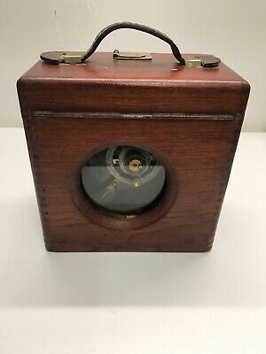 Toulet Imperator Vintage Pigeon Racing Timer Clock - Untested