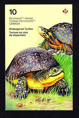 Canada Endangered Turtles, 2019 booklet of 10 P stamps