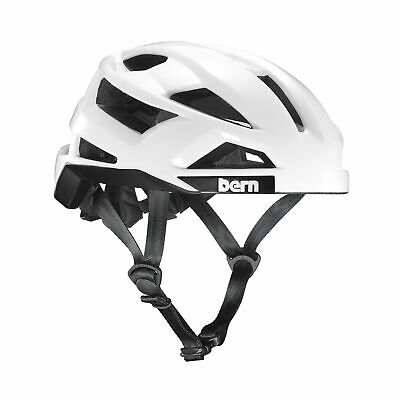 Bern FL-1 Mens Bicycle Helmet Adult Small Fits 20.5 to 22 in White B5