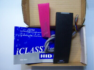 HID 6145AKN0000 iCLASS RP15 Multiclass Reader NIB New / Honeywell Ademco DSC GE