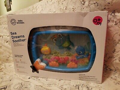 Sea Dreams Soother Crib Toy with Remote, Lights and Melodies 0+months NIB