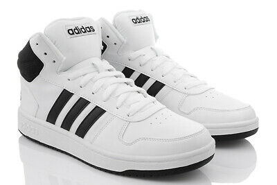 ADIDAS HOMMES HOOPS Mid Baskets Montantes Chaussures De