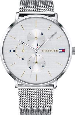 6b8b1b3c Tommy Hilfiger Ladies Analog Silver Quartz Tommy Hilfiger Multifunction  1781942