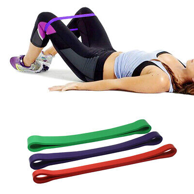 New Heavy Duty Resistance Band Loop Exercise Yoga Workout Power Gym Fitness
