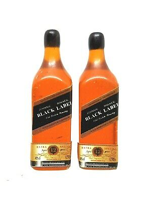 Add to Coles Little Shop Mini Collectables-Johnny Walker Black 1:12th Miniature