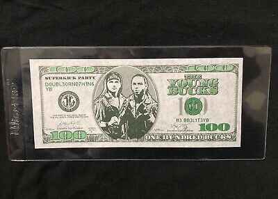AEW All Elite Wrestling Double Or Nothing Las Vegas Young Bucks Cash Money Bill