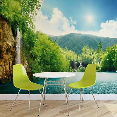 WALL MURAL PHOTO WALLPAPER PICTURE (145VE) Landscape Rural Lake