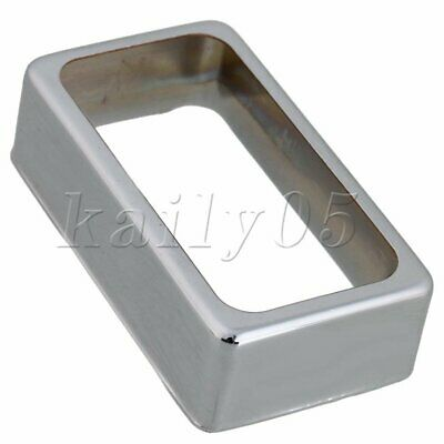 Copper-Nickel Alloy Humbucker Pickup Cover for Electric Guitar Chrome 7 x 3.7cm