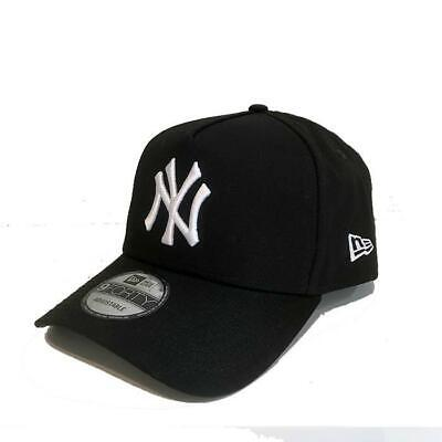 premium selection 486a6 c2d59 NY Yankees A Frame 9FORTY Snapback Black New Era