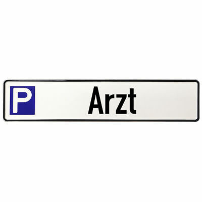 Shield Parking Aluminium for Doctor, Ärztehaus or Doctor's Office S3601