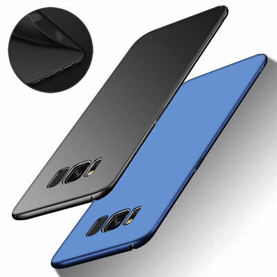 Ultra Thin Shockproof Matte Hard Case Cover For Samsung Galaxy S8 S9 A7 A8 Plus