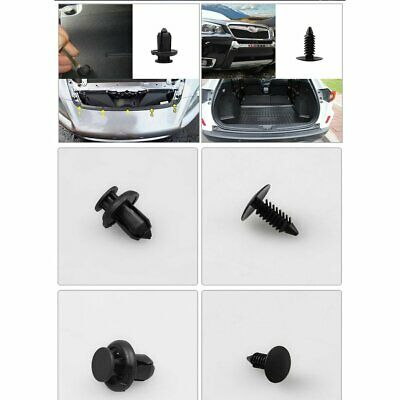 100pcs Car Automotive Push Pin Rivet Trim Clip Panel Body Interior Buckle GE